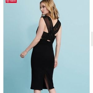 Dynamite Cross-Back Jacquard Midi Dress XL